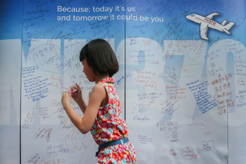 Devastating news for loved ones ... MH370 search to end next week