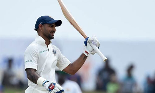 Sri Lanka spinners dent India charge after Dhawan ton