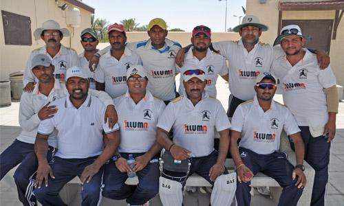 Strikers win Awali trophy