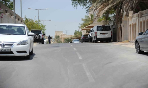 Riffa road development project underway