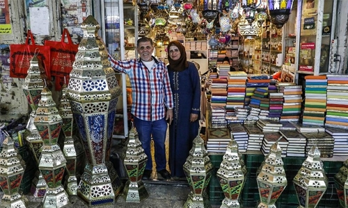 In Jerusalem's Old City, lantern maker lights up Ramadan