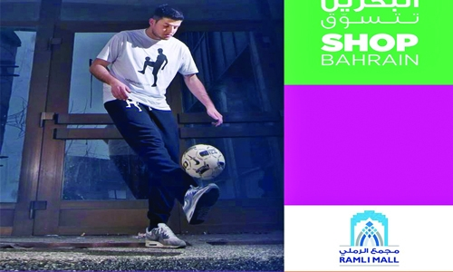 Astonishing performance for football fans at Ramli Mall