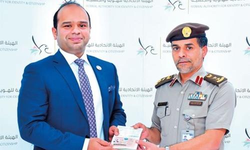 Adeeb gets UAE 'Gold Card'
