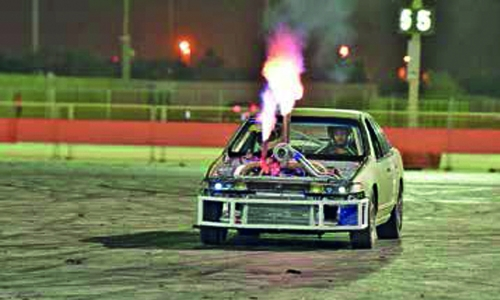 BIC to host exciting night of Burnout