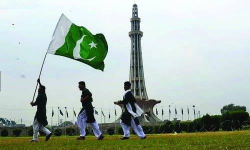 Celebrating Pakistan Day