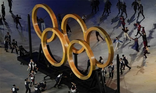 With muted ceremony and empty stadium Tokyo Olympics begin