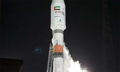 UAE launches Falcon Eye into space