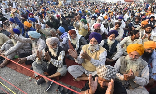 Farmers' protest: Security heightened at India's Red Fort, Singhu border