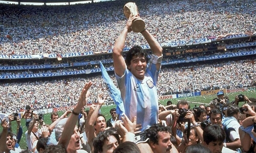 Maradona's Hand Of God shirt could be yours - for $2 million