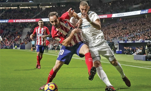 Real-Atleti derby ends goalless