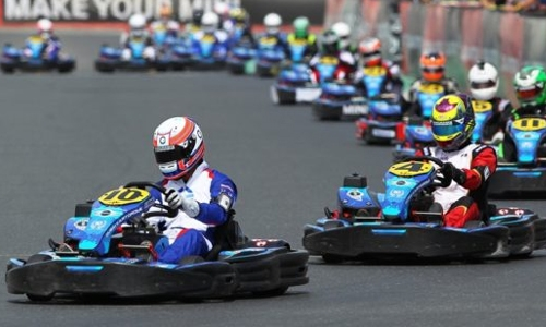 Karting battles resume at BIKC