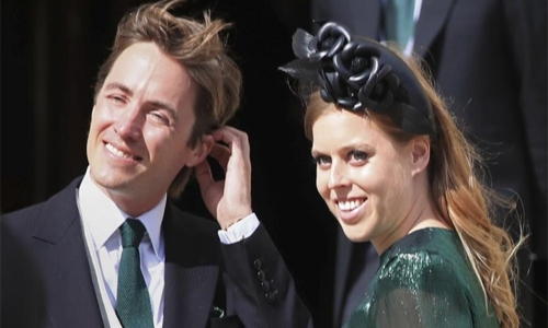 UK's Princess Beatrice gives birth to daughter