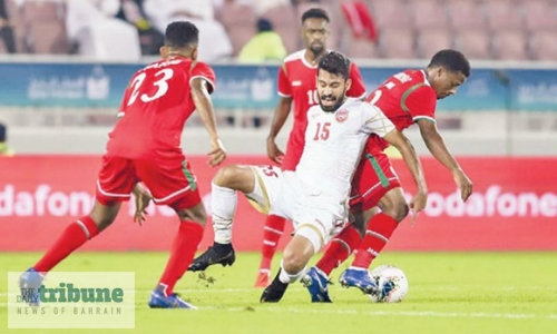 Bahrain, Oman settle for draw