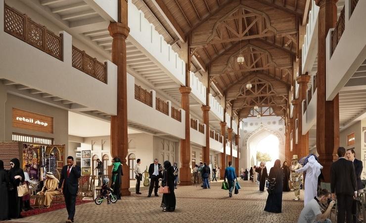 Diyar Al Muharraq lays foundation for Souq Al Baraha