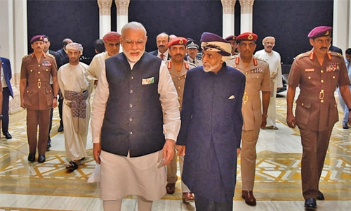 India, Oman sign eight deals