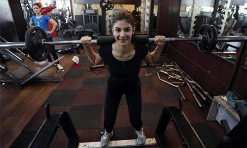 Kurdish women pedal, dunk, spike as Iraq's top athletes