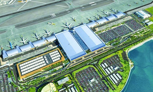 New Airport terminal set for 2019 soft launch: report
