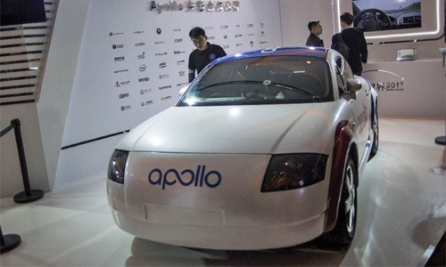 China driverless cars in '3-5 years'