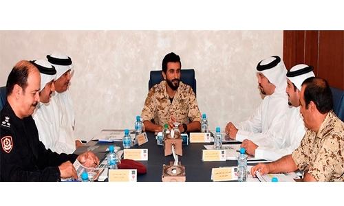 Shaikh Nasser chairs  BIDEC 2017 meeting