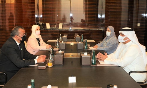 Bahrain succeeds in managing health waste from treating Covid patients: WHO chief