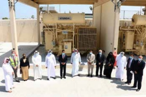 Electricity Minister opens BD43 million, 66KV plant