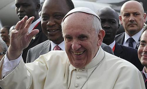 Pope warns poverty fuels conflict on landmark Africa trip