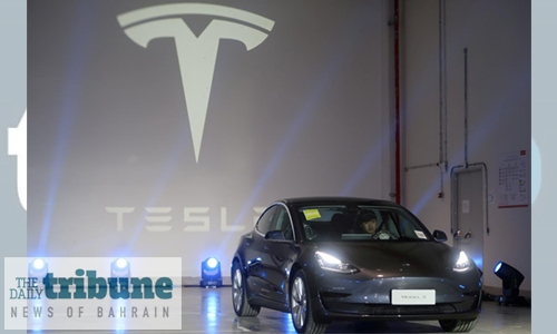 Tesla overtakes Volkswagen as world's second most valuable carmaker