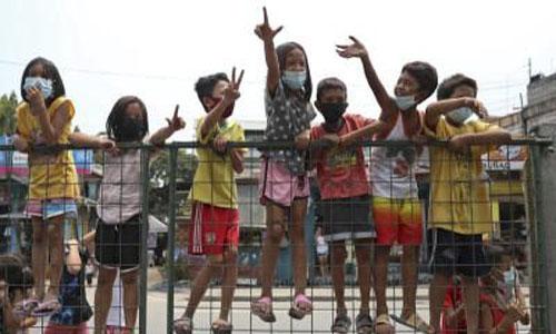 Philippines orders kids back indoors amid fears of virus surge