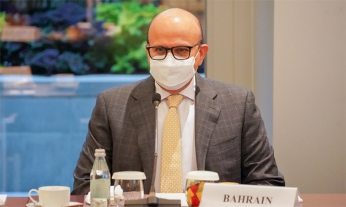 Bahrain calls for 'collective global action' to adequately address today's major challenges