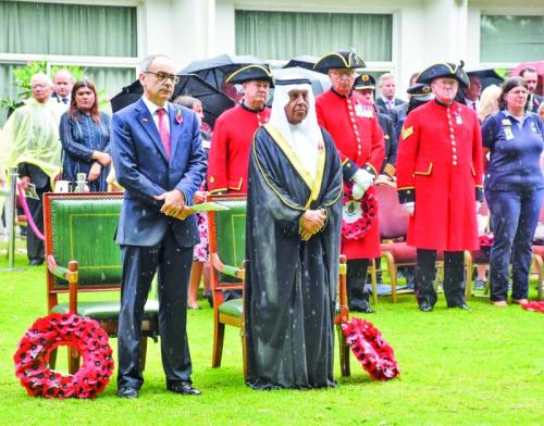 Remembrance Day observed