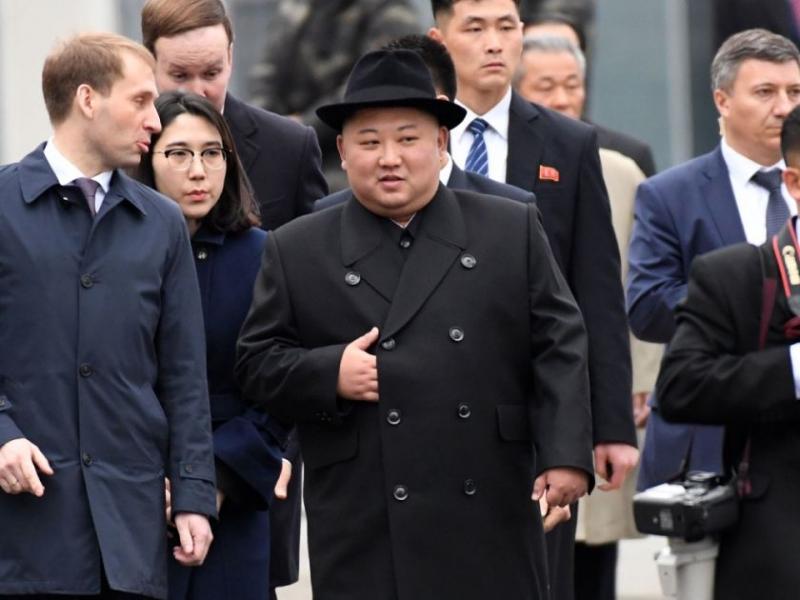 Kim in Russia for talks