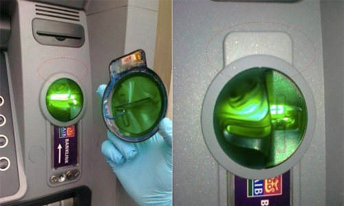 Two Europeans arrested in ATM fraud case