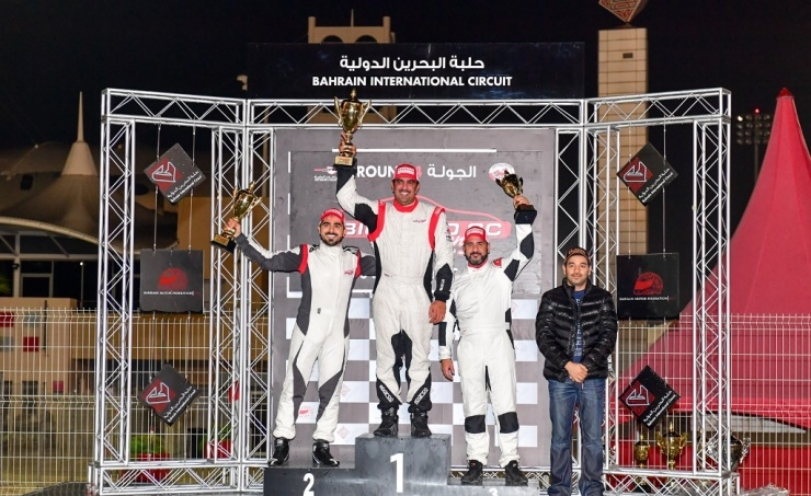 Shaikh Salman dominates wet 4th round of BIC 2,000cc Challenge
