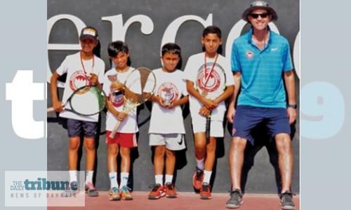 Action continues in BTA Junior Tournament
