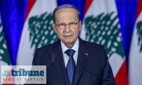 Lebanon president to chair crisis talks