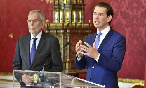 Austrian prez calls for Sep snap elections
