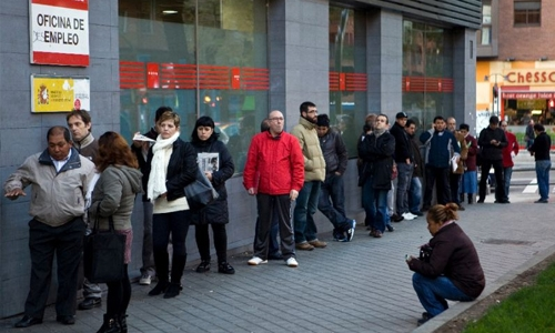 Eurozone unemployment falls to more than 7-year low