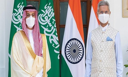 Saudi, Indian foreign ministers discuss joint cooperation