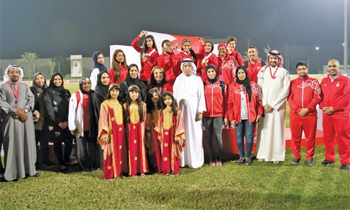 Bahrain champions