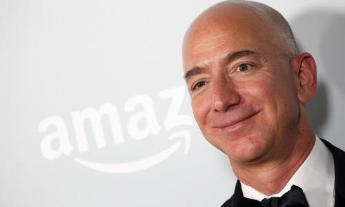 Amazon founder Bezos is the richest man in modern history