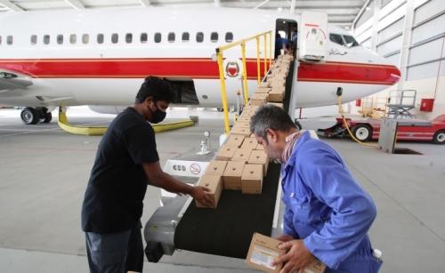 On a mission: Bahrain begins Beirut relief efforts