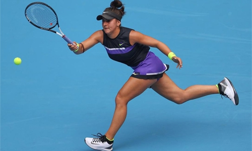 Andreescu 'on a roll' in China