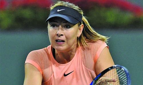 Sharapova falls to Garcia
