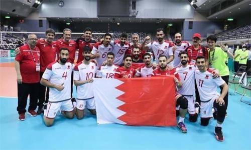 Bahrain take down Kuwait in Asian volleyball
