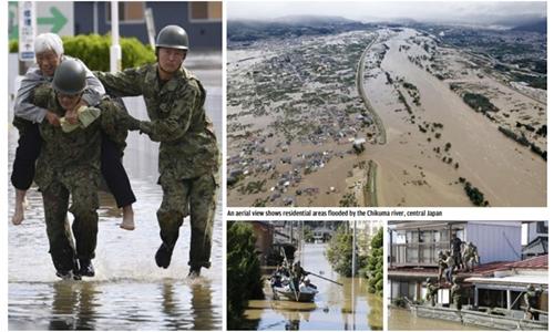 Japan sends in troops after typhoon kills 30