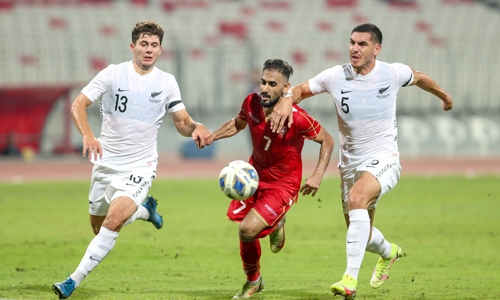 Bahrain concede late goal in loss to Kiwis