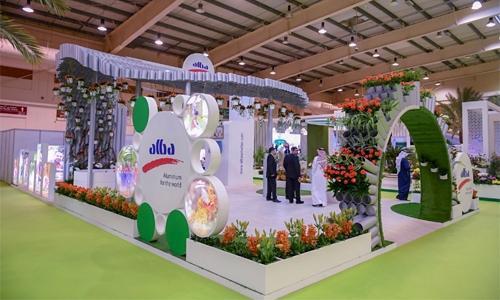 Alba supports Garden Show