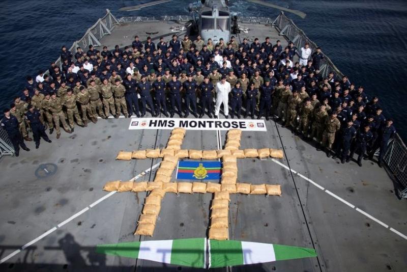 Another 'impressive' drug seizure by HMSMontrose