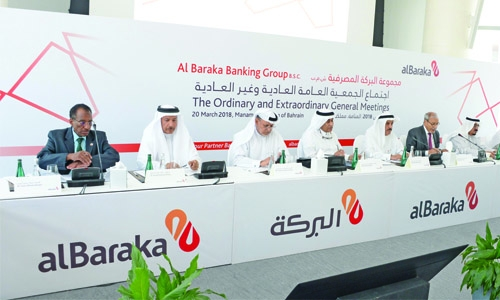 Al Baraka AGM  okays dividends,  bonus shares of  US$60.3 million