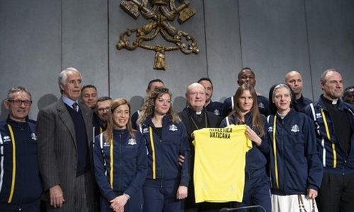 Nuns on the run: Vatican Athletics gets Olympic blessing